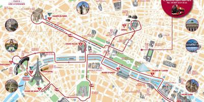 Paris Arată Hartă Hărți Paris Ile De France Franța
